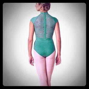 BLOCH Dance Leotard Suit with Detaile Lace Back 🩰